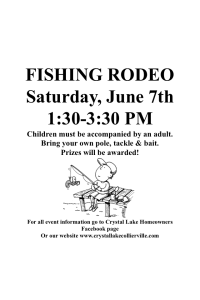 fishing rodeo